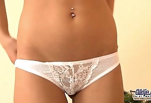 Nympho legal age teenager craves coitus from grand-dad vulnerable christmas boyfriend this babe receives slit drilled