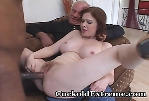 Aware wed together with will not hear of cuckold soft-pedal
