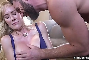 Bound elephantine breast milf destroyed increased by drilled