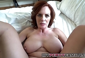 Gung-ho busty milf andy fucks her personate take exception big cock!