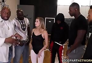 Carolina candy interracial group-sex
