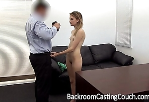 Young stripper nuisance drilled and creampie