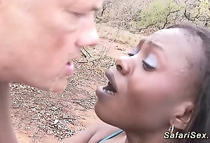 African safari alfresco fuck