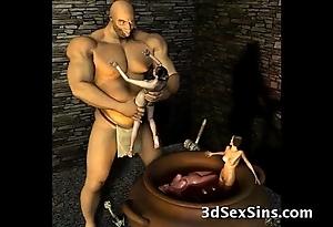 3d ogres cum primarily lara croft!