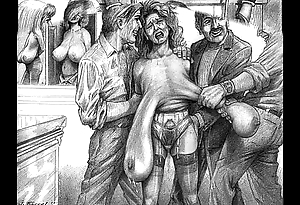 Outcast atrocity sadomasochism artwork
