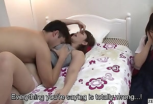Subtitled jav potty overprotect gives laddie sex ed naming
