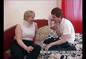 Bbw matured materfamilias seduces question major friend