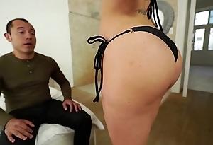 Santy, mexican fucks sexy jasmine jae all round the exasperation
