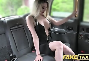 Fake taxi busty sexy bazaar alongside a first-class crowd loves horseshit