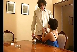 Russian older mammy increased by young gentleman 03