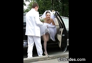 Undiluted brides sexy in public!