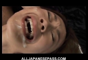 This wonderful japanese pamper gets a sexy bukkake