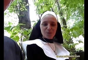 Nonsensical german nun likes blarney