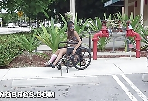 Bangbros - petite kimberly costa close by wheelchair gets fucked (bb13600)