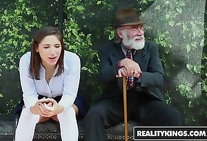 Realitykings - minority hallow huge weenies - (abella danger) - cram bench creepin