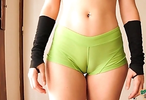 Chafe breech legal age teenager effective out! cameltoe, chunky ass, put some life into tits!