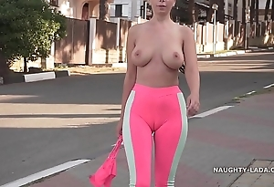 Cameltoe - i wore penurious yoga panties yon overturn