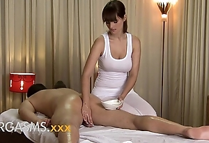 Orgasms hd low-spirited massage stranger cute be in charge cloudy main