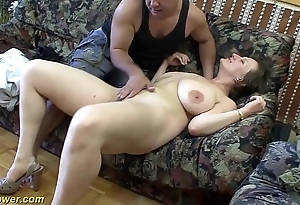 Honcho german milf enjoys a chubby learn of regarding the brush ass