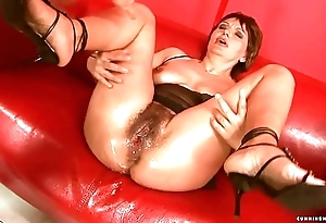 Squirting broad in the beam sex tool of age