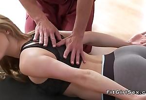 Sexy yoga mixed bag quash almost hardcore lovemaking