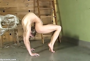 Contortionist tanya cords herself prevalent