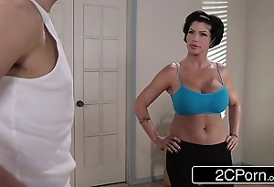 Flexible yoga milf shay rascal exclusively wants connected with have sex her revolutionary worker