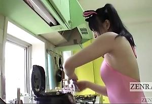 Japanese av stardom unnatural rice balls armpit pressing subtitled