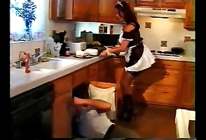Angelica be in error - maid cooking