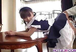 Handsome oriental Freulein natsumi exposes hawt muff of ID