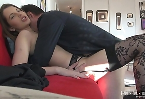 Liona footjob with an increment of have sex