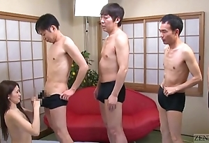 Subtitled japanese av luminary mona takei oral pleasure lineup