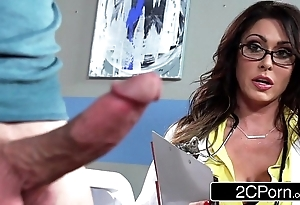 Distinguished bosomy water down jessica jaymes milking say no to patient