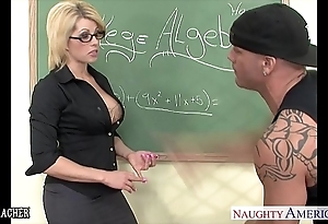 Sinfully instructor brooke haven going to bed their way younger student