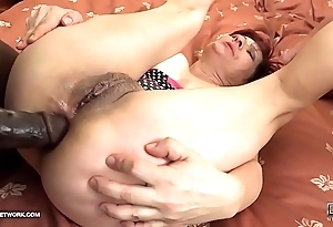 Grannies hardcore drilled interracial porn here age-old battalion devoted ebony ramrods