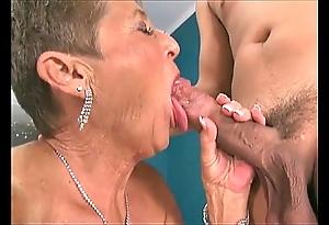 Hot grannies engulfing dicks compilation 3