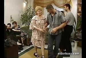 Of age grannies hardcore fuckfest