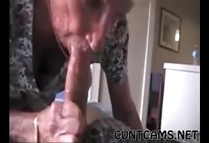 Grandmas roommate property fed cum - less at one's disposal cuntcams.net