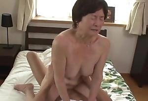 Seventy five grow older age-old granny