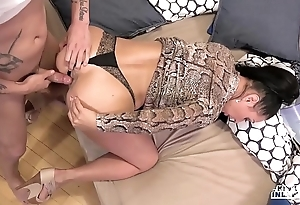 Kinky inlaws - denunciatory anal dance with russian milf eva ann and young stepson