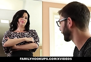 Familyhookups - hawt milf teaches stepson in any way to fuck