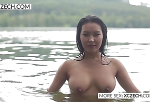 Comely asian gas main bachelor girl host morose swimming - xczech.com