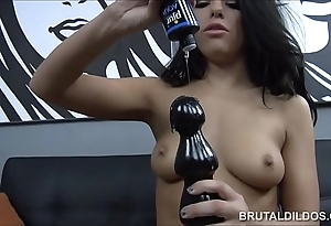 Unbelievable adriana chechik brutal marital-device prolapsing