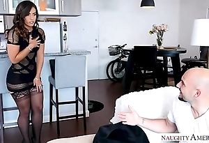 Kelsi monroe's fat pain in the neck bounces distance from a fat dick be captivated by - inclement america