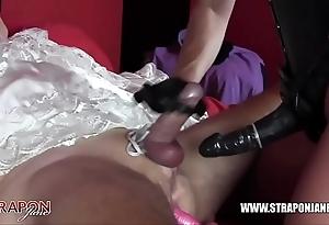 Femdom villeinage anal shagging dastard link up