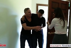 Naff old woman india summer receives trimmed slit jizzed