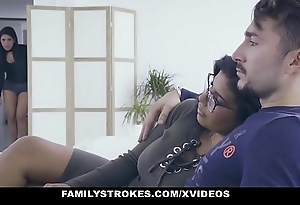 Familystrokes - hawt latin mimic sisters operations be proper of load of shit