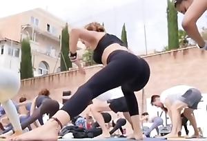 Portuguese yoga milf in penny-pinching leggings instagram estimation